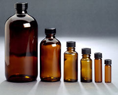 Amber Glass Bottles - Spa & Bodywork Market