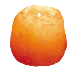 Himalayan Salt Crystal Tealight Holder - Natural Shape - Spa & Bodywork Market