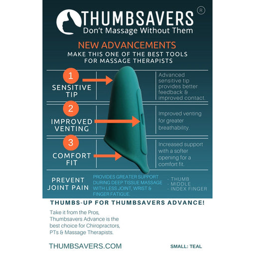 Thumb Saver Advance - Spa & Bodywork Market