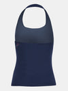 Built in bra luxury top t shirt top navy Admiral