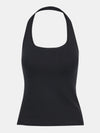 Built in bra luxury top t shirt top black Jet
