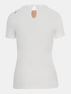 Built in bra luxury top t shirt white Cloud