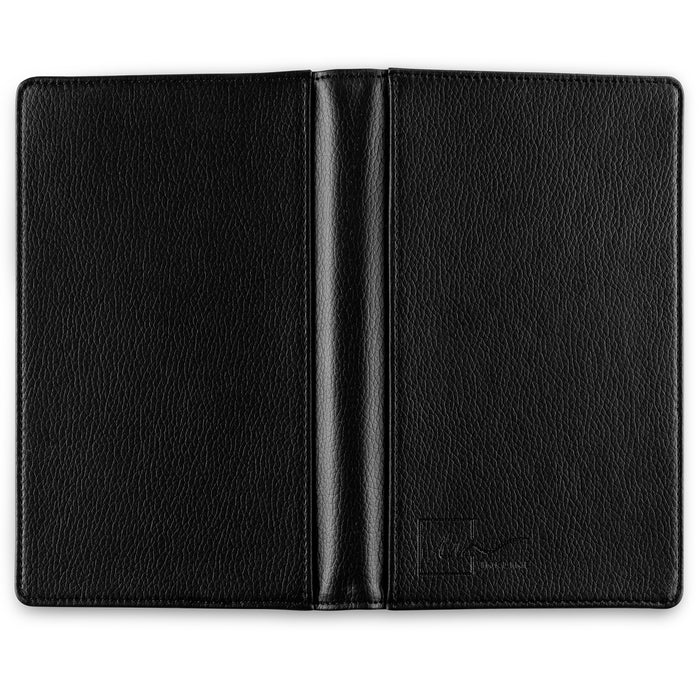 Inkline Business Card Holder, Professional PU Leather Name Card Book Holder, Credit Card Organizer, Black - 240 Cards (11916)