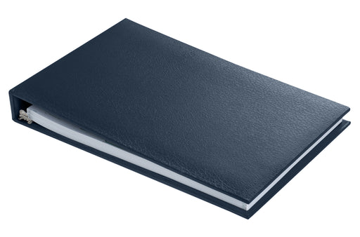 Executive 7 Ring Check Binder - Navy