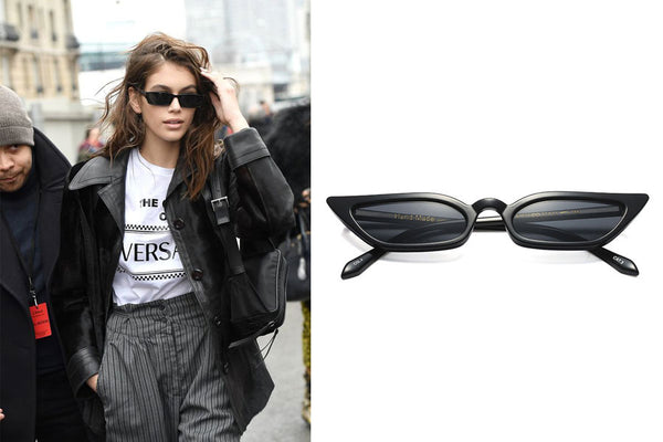 Kaia Gerber Inspired Style Retro Nineties Sunglasses Shades Sunnies