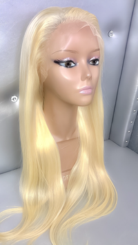 Plantinum Blonde #613 Full Lace Wig