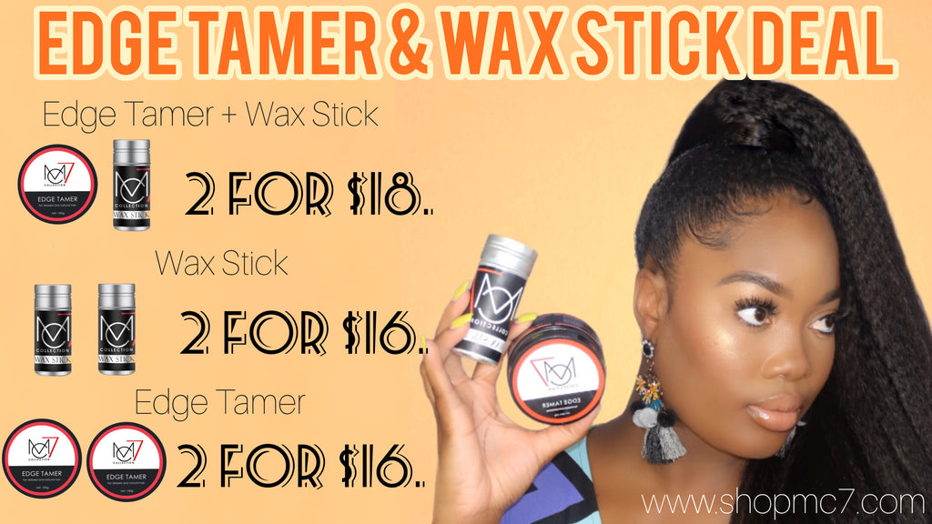EDGE TAMER & WAX STICK DEALS