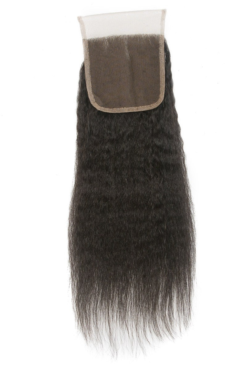 Kinky Straight Lace Closure (4x4)