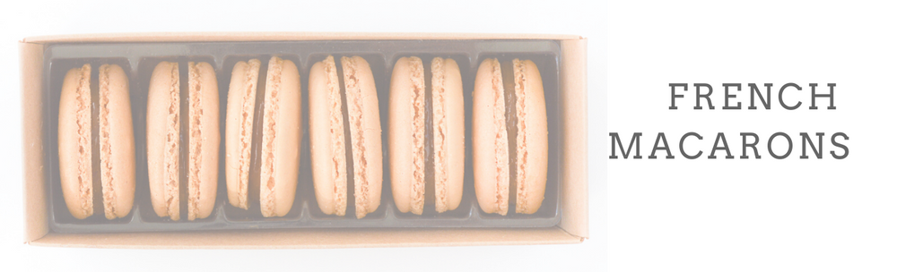 French Macarons - 6 Packs