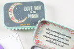 Love You to the Moon Prayer Box