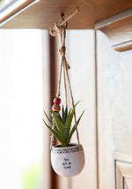 You Are So Loved Hanging Succulent