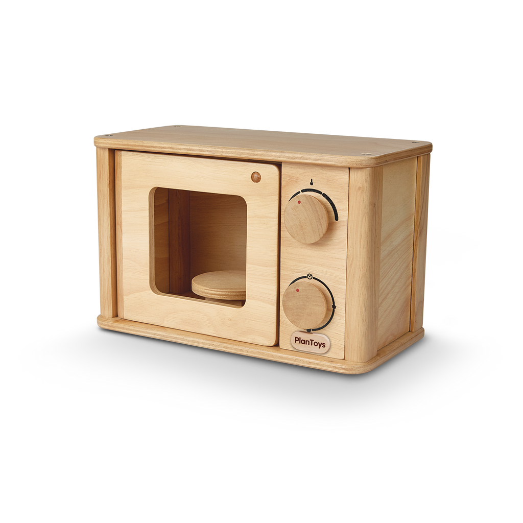 Wooden Microwave