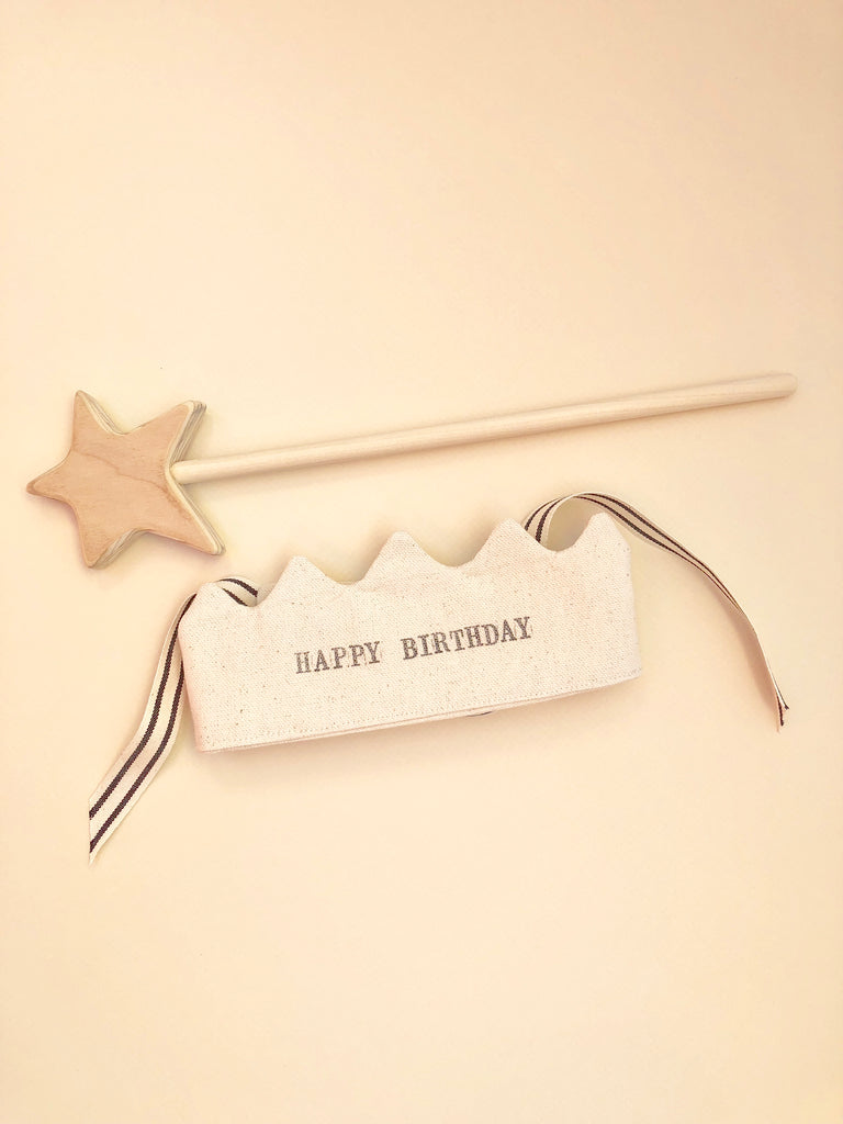 Birthday Wishes Wand & Crown