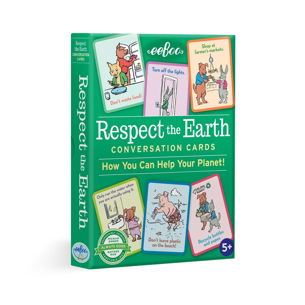 Respect the Earth Conversation Flash Cards