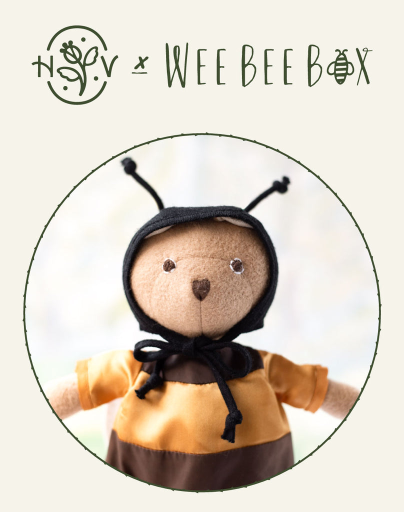 Wee Bee Box x Hazel Village Bee Costume & Animal Set