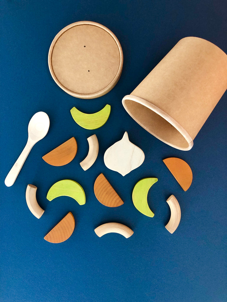 Vegetable Soup Play Food Set