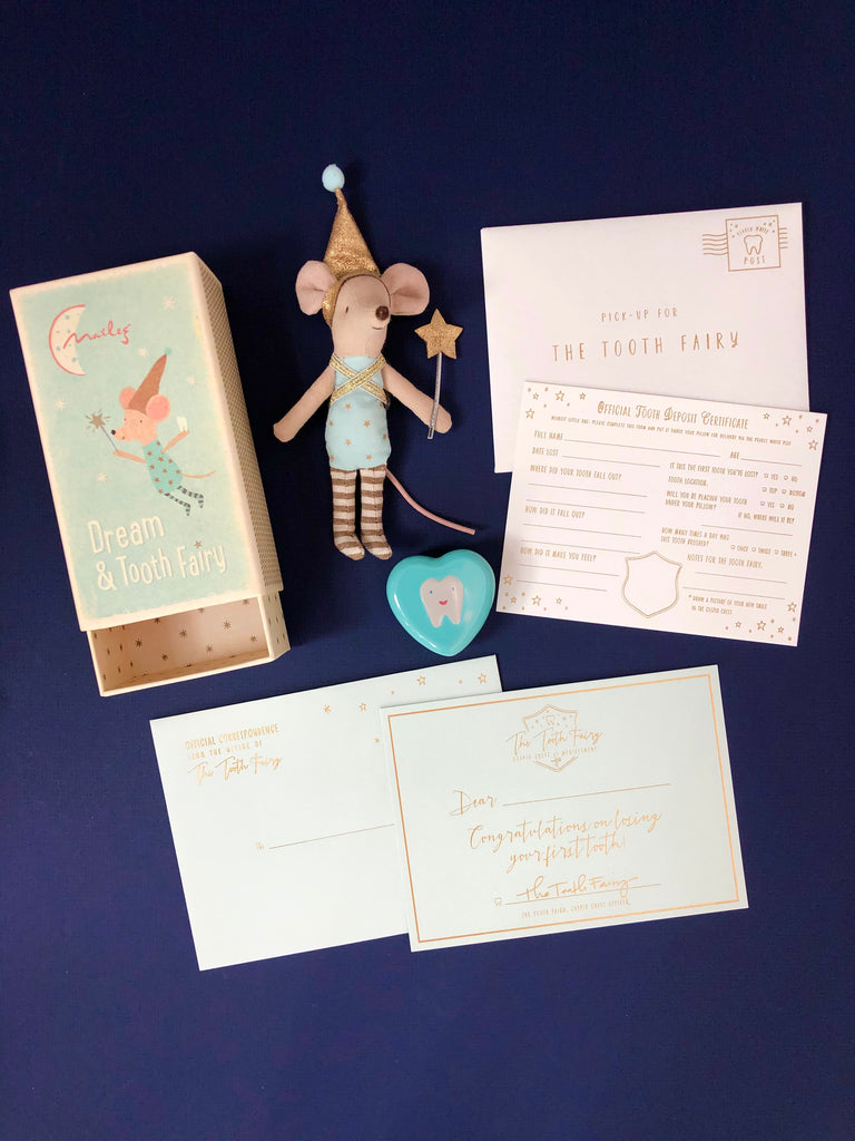 Tooth Fairy Mouse Bundle Set
