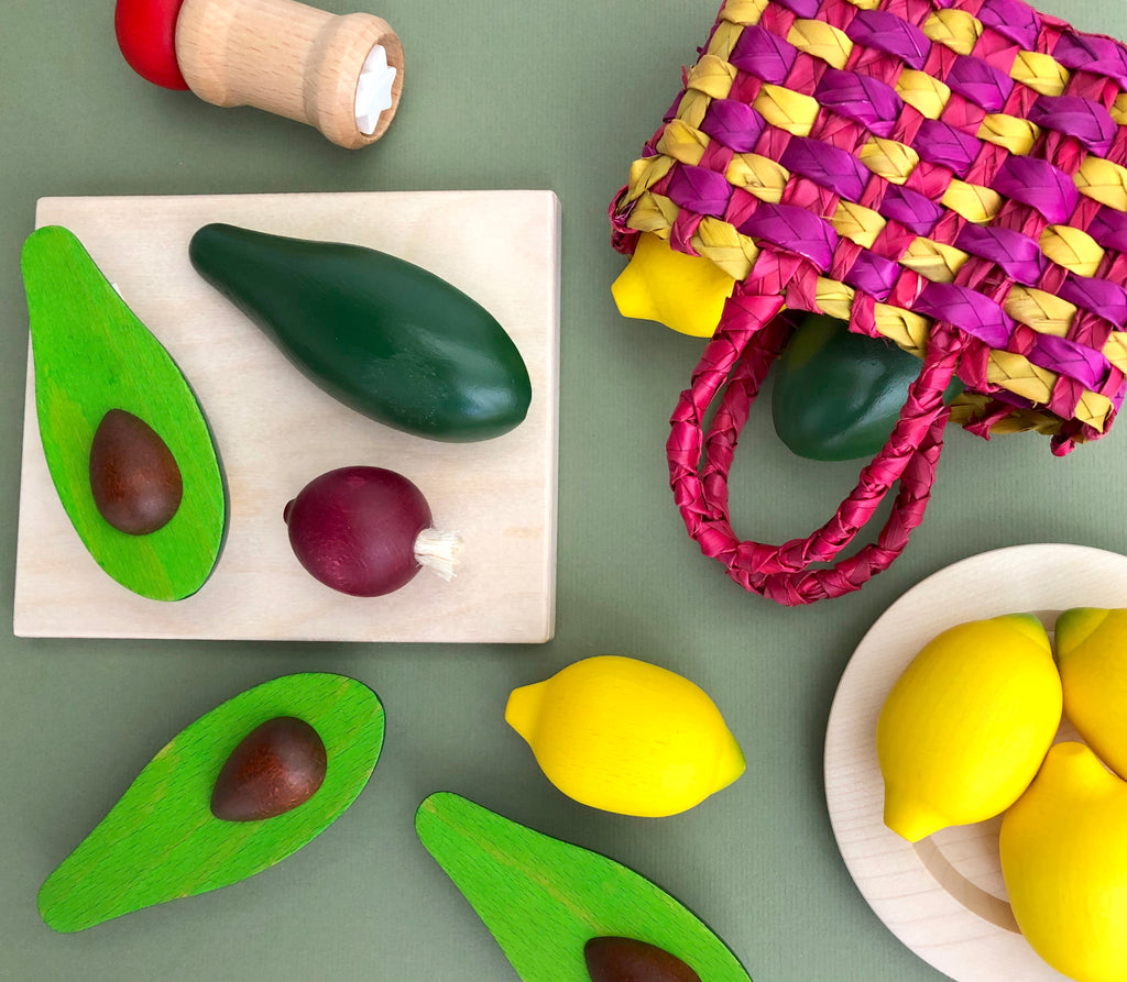 Guacamole Play Food Set
