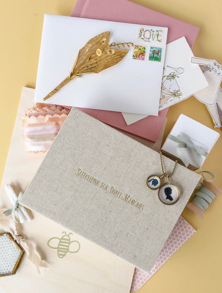 Signature Safekeeping For Sweet Memories Linen Box