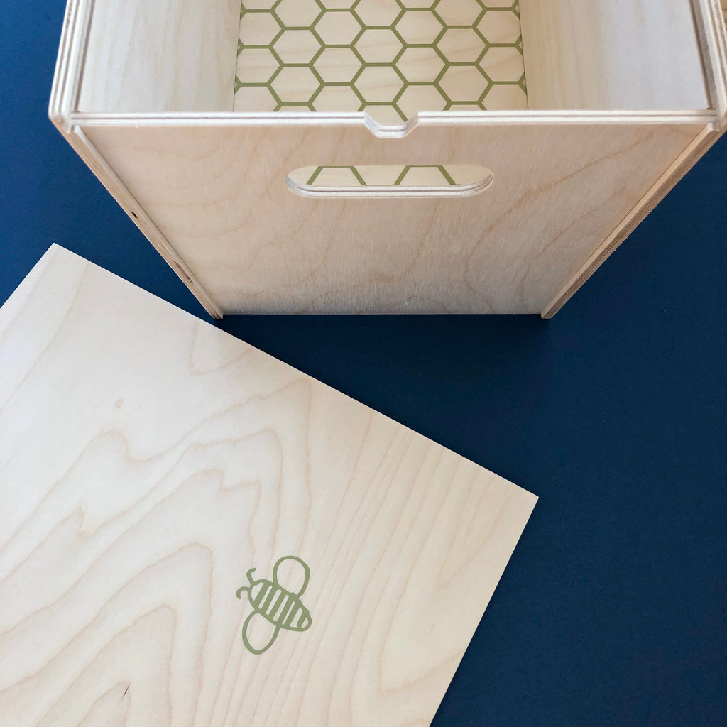 Signature Wood Bee Box