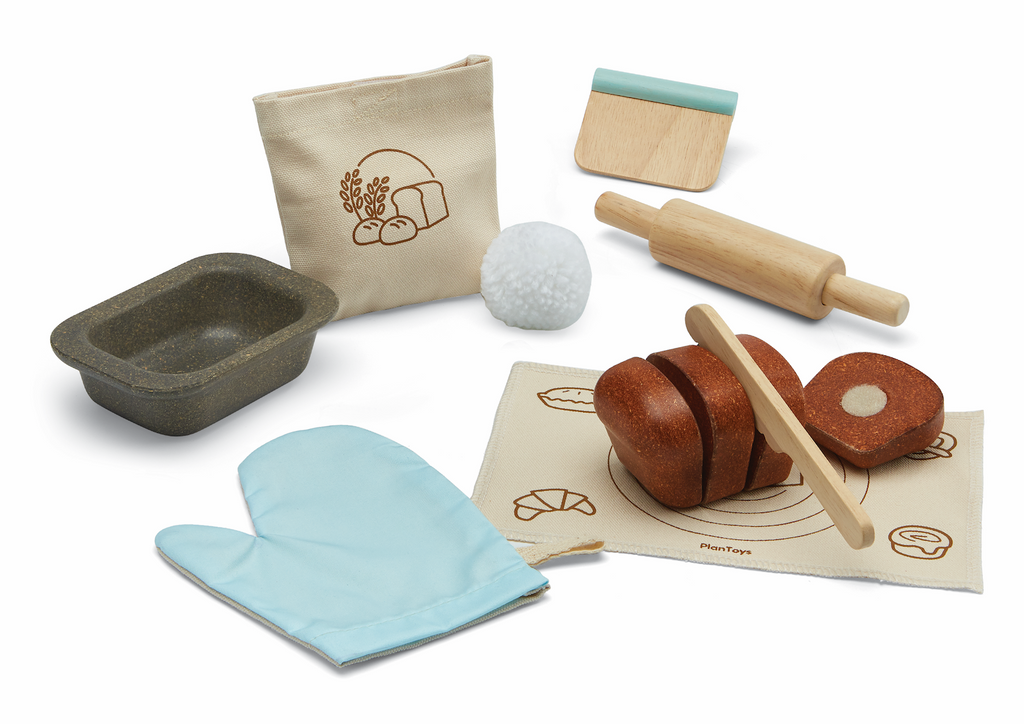 Bread Loaf Baking Play Food Set