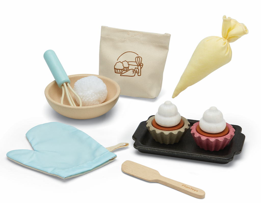 Cupcake Baking Play Food Set