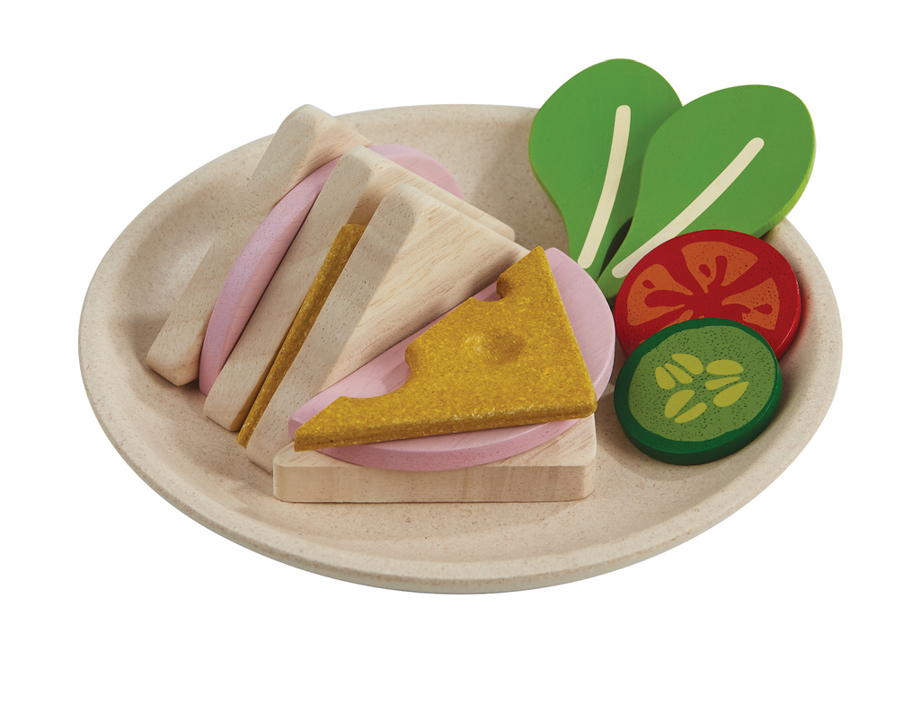 Sandwich Meal Play Food Set
