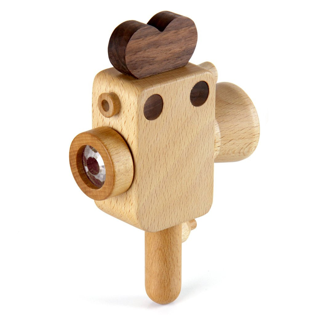 Super-8 Wooden Camera by Father's Factory