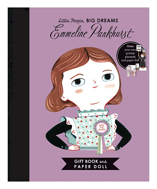 Little People, Big Dreams: Emmeline Pankhurst Book - FINAL SALE - NO RETURNS