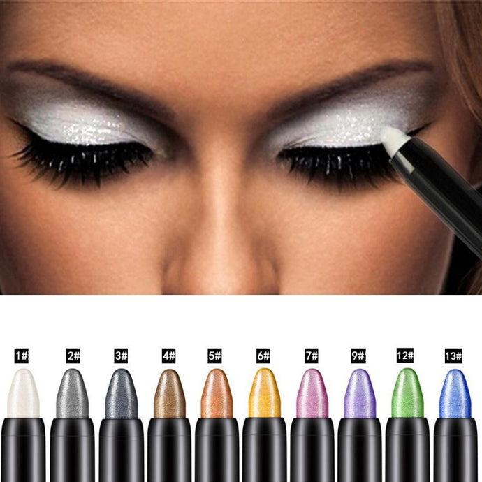 Eye Shadow OutTop Newly Design 1pc Cosmetic Makeup Highlighter Glitter Eye Shadow Pencil Drop Shipping maquiagem - Global Best Retail