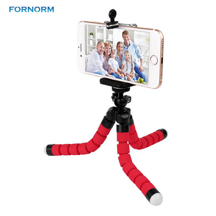 Mini Portable Flexible Tripod with Phone Holder Bracket Stand Tripod Kit for DSLR Camera iPhone 6s 7 Xiaomi Samsung HTC - Global Best Retail