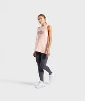 Gymshark Relaxed Graphic Vest - Washed Peach 10