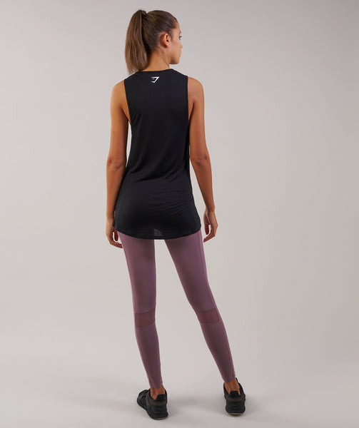 Gymshark Motion Vest - Black 1