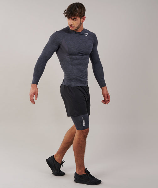 Gymshark Element Baselayer Shorts - Charcoal Marl 3