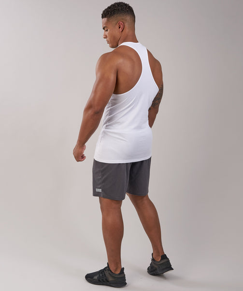 Gymshark ION Stringer - White 3