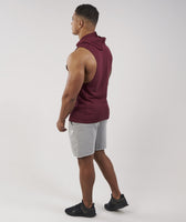 Gymshark Drop Arm Sleeveless Hoodie - Port 11