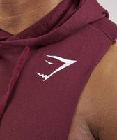 Gymshark Drop Arm Sleeveless Hoodie - Port 12