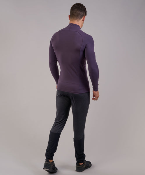 Gymshark Edge 1/4 Zip Pullover - Nightshade Purple 3