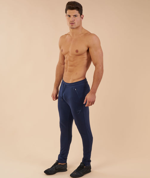 Gymshark Fit Tapered Bottoms - Sapphire Blue 4