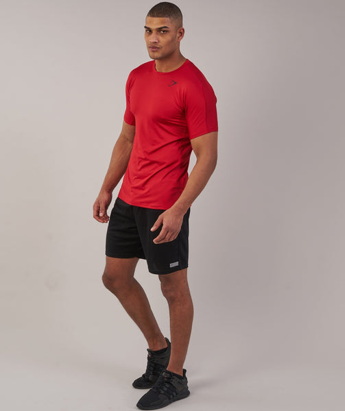 Gymshark Primary T-Shirt - Deep Red 2