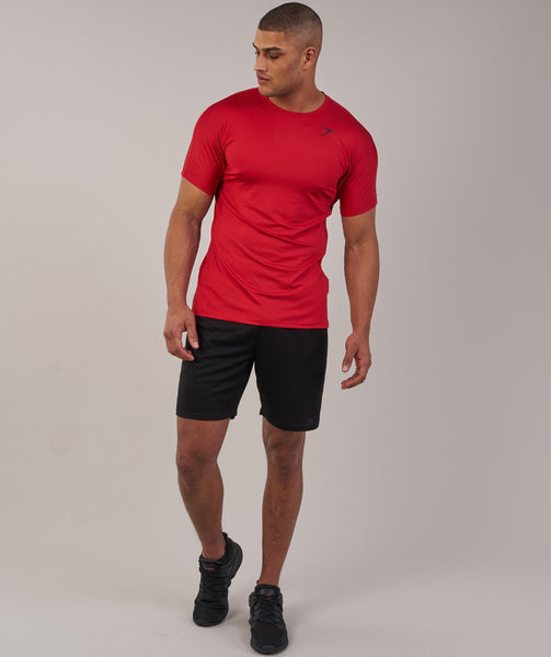 Gymshark Primary T-Shirt - Deep Red 3