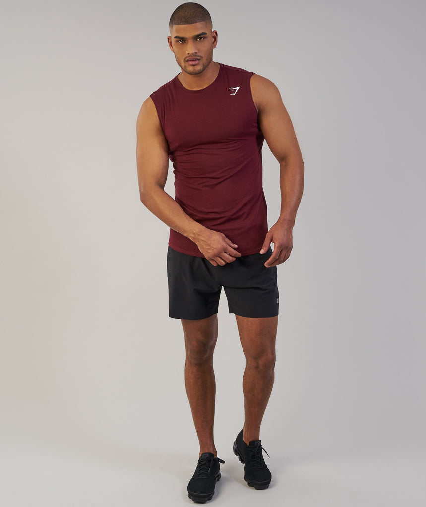 Gymshark Ark Sleeveless T-Shirt - Port 1
