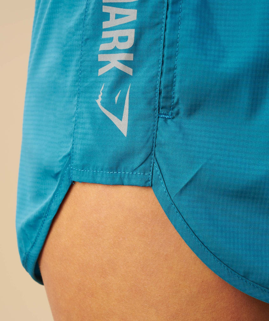 Gymshark Running Shorts - Deep Teal 6