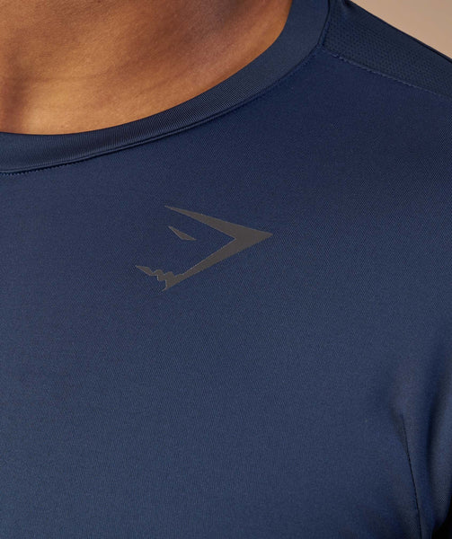 Gymshark Primary T-Shirt - Sapphire Blue 4