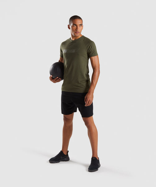 Gymshark Apollo T-Shirt - Woodland Green 3