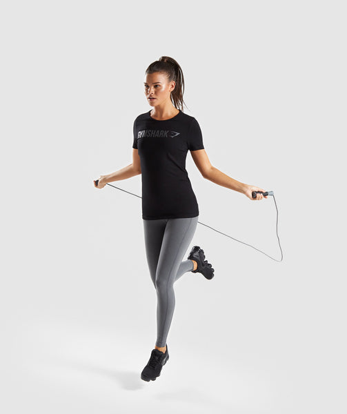 Gymshark Women's Apollo T-Shirt - Black 3