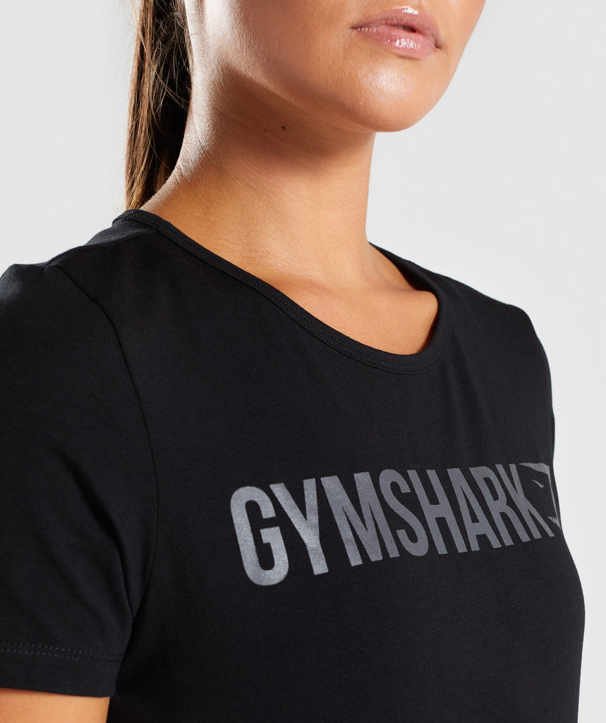 Gymshark Women's Apollo T-Shirt - Black 6
