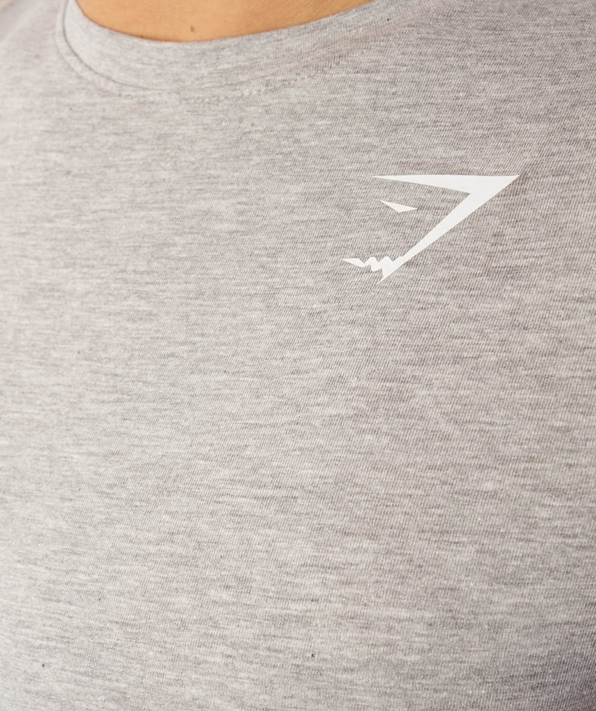 Gymshark Ark T-Shirt - Light Grey Marl 6