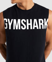 Gymshark Bold Graphic Drop Armhole Tank - Black 11