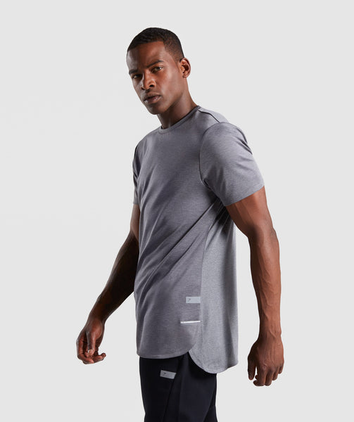Gymshark Breathe T-Shirt - Smokey Grey Marl 2